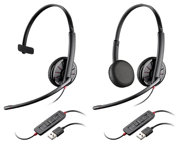 Blackwire C325 Plantronics słuchawka stereo