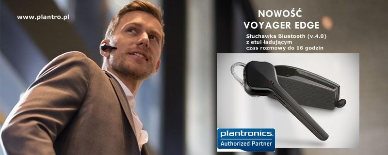 Nowość Voyager EDGE Plantronics słuchawka Bluetooth